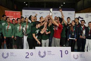 Equipa de Karaté da U.Porto vence troféu coletivo.