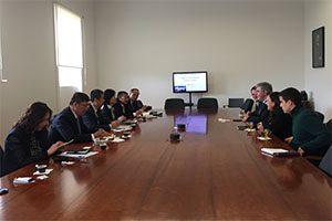 Visita Universidade de Yangzhou