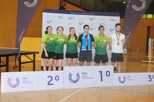 Pódio feminino no Ténis de Mesa foi dominado pela U.Porto e medalha de ouro no masculino.