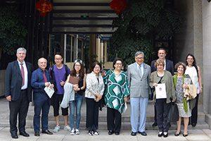 Visita da U.Porto à Universidade de Macau (2016)