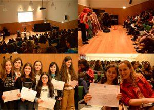 A gala Ocean Action contou com a participação de 200 alunos e professores