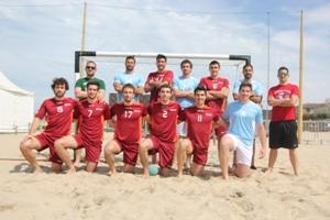 Andebol de Praia vence título no masculino e feminino