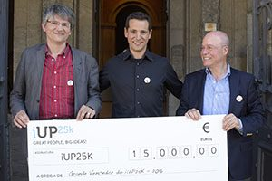 Audio GPS. iUP25k 2016 (vencedores)