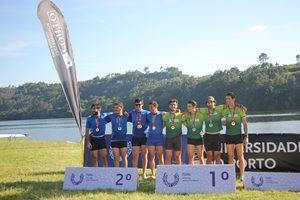 U.Porto vence 4 medalhas de ouro, duas de prata e 1 de bronze no Remo.