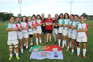 EUSA Games 2016 Rugby 7s feminino