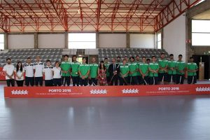 Mundial Universitário de Floorball, Seleção Portuguesa com Reitor