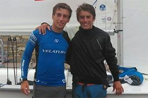 Pedro e Diogo Costa, Mundial de Vela 420