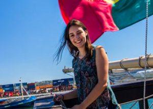 Adriana Rego participou na Edição 2014/2015 do programa BYT CIIMAR