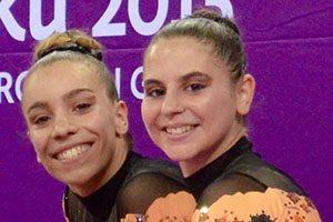 Joana Patrocínio e Susana Pinto, ginastas