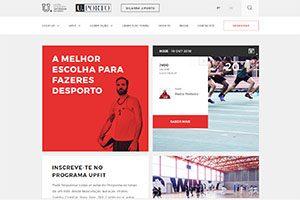 Website CDUP-UP / Desporto U.Porto