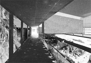 "Projecto para as ruínas romanas de Tongobriga conforme proposta ""Conservación de las ruinas romanas de Tongobriga, Marco de Canavezes, Portugal"" de Marcos Meireles Veiga (Foto: DR)"