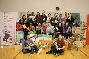 Trocar atividade física por um bem solidário no Programa UPFit do CDUP-UP.