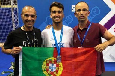 Renato Pereira no Europeu Universitário de Taekwondo 2019 (Destaque)|Joaquim Mendes no Europeu Universitário de Karaté 2019|Joaquim Mendes no Europeu Universitário de Karaté 2019 (Destaque)|Renato Pereira no Europeu Universitário de Taekwondo 2019