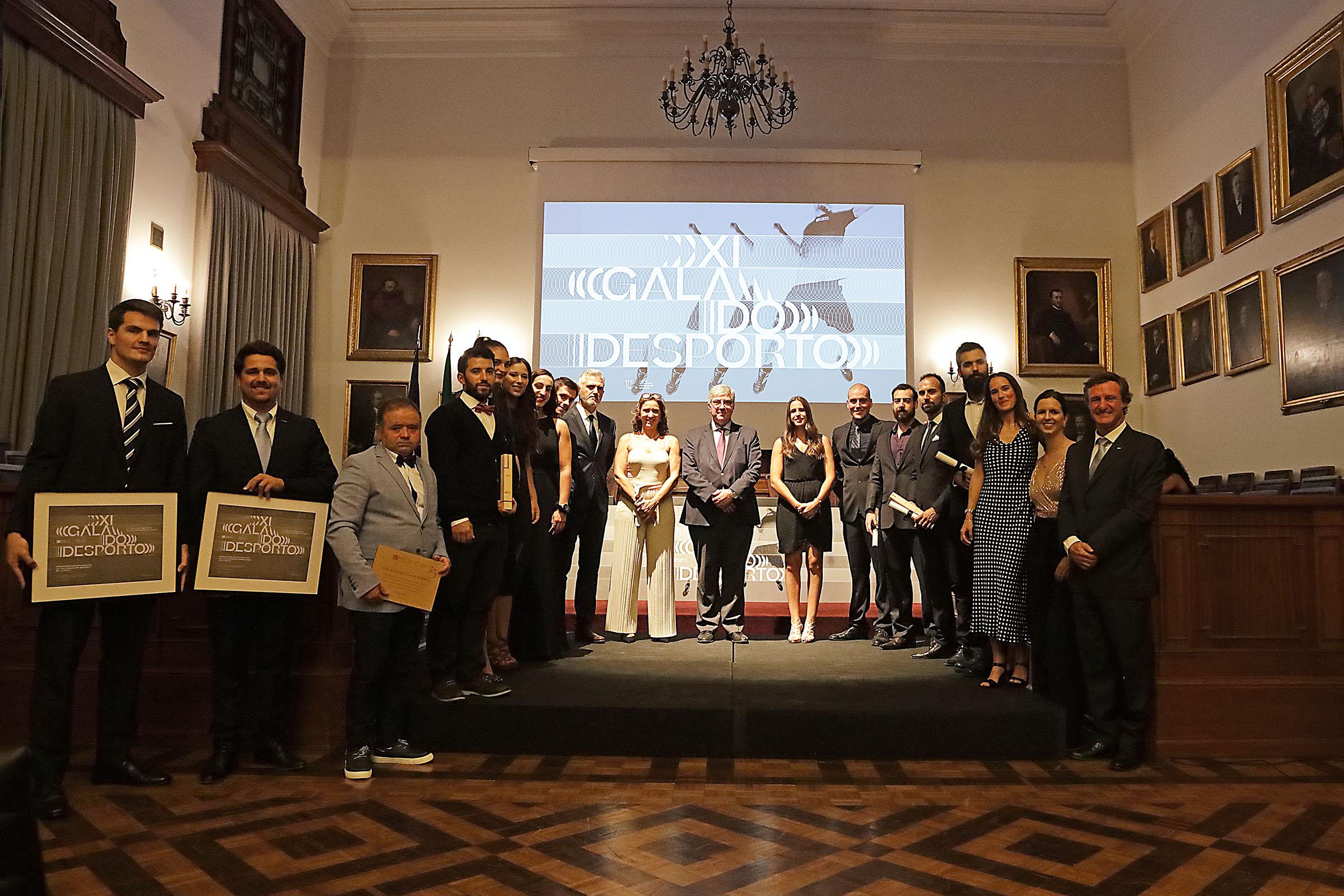 E os vencedores da XI Gala do Desporto da U.Porto são…