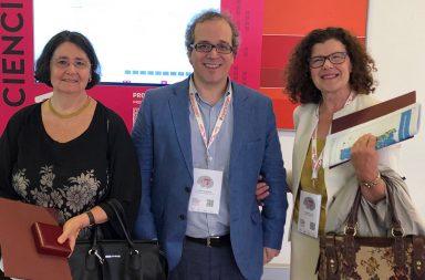 Deolinda Lima e Maria João Saraiva (na foto com Hélder Vasconcelos