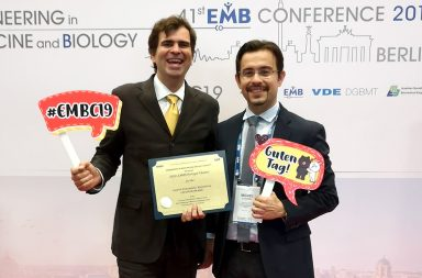 entrega do IEEE EMBS Outstanding European Chapter