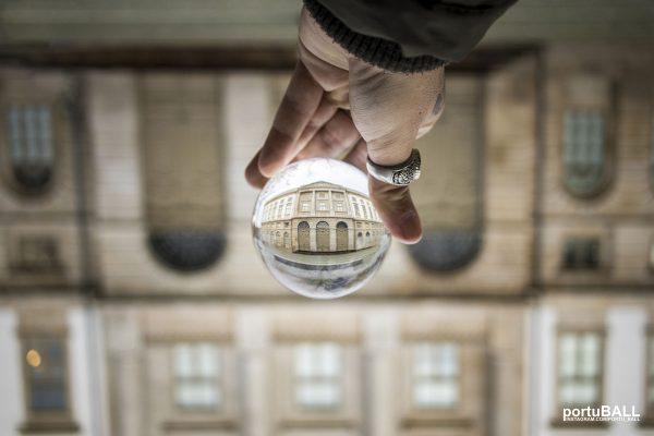 O mundo numa bola...