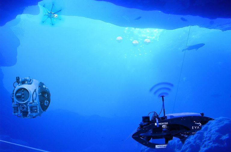Robótica no fundo do mar