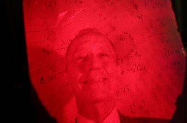 Holograma de Marcelo Rebelo de Sousa