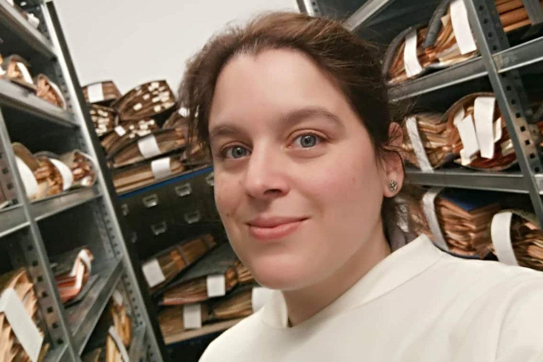 Cristiana Vieira, curadora do Herbário do MHNC-UP