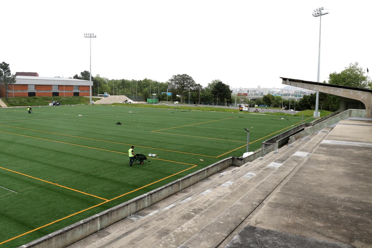 O verde está de volta ao Estádio Universitário do Porto