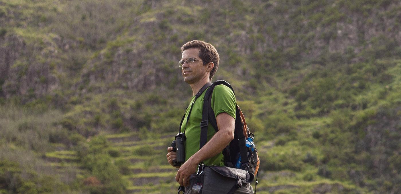 Martim Melo: voos altos na investigação da biodiversidade