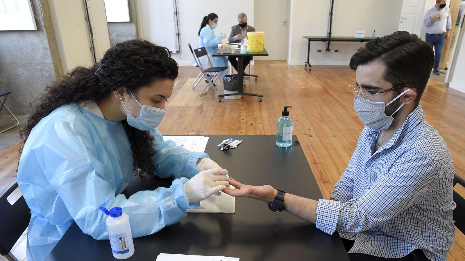 Covid-19: U.Porto disponibiliza testes serológicos aos estudantes
