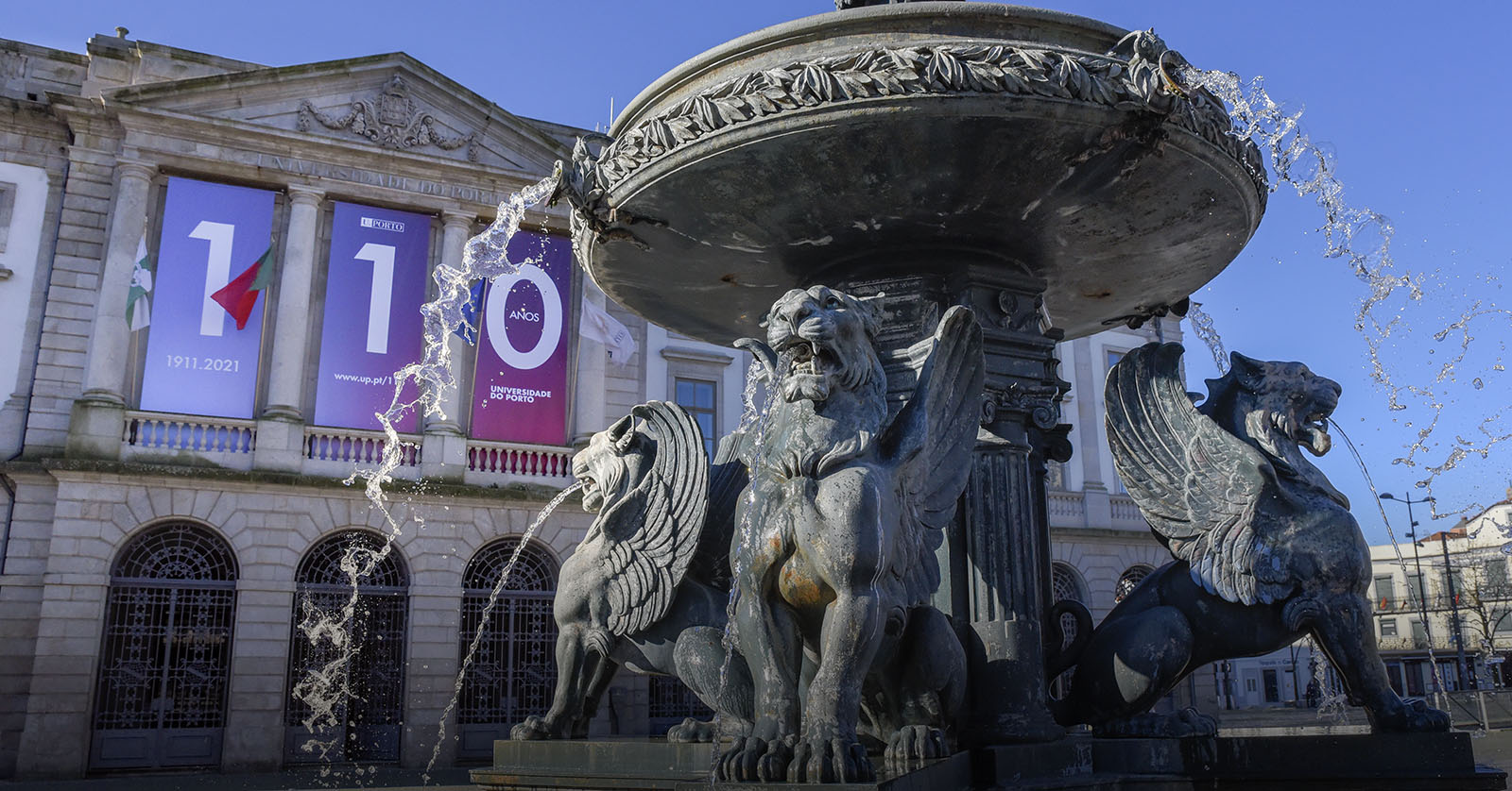 U.Porto comemora 110 anos a projetar o futuro!