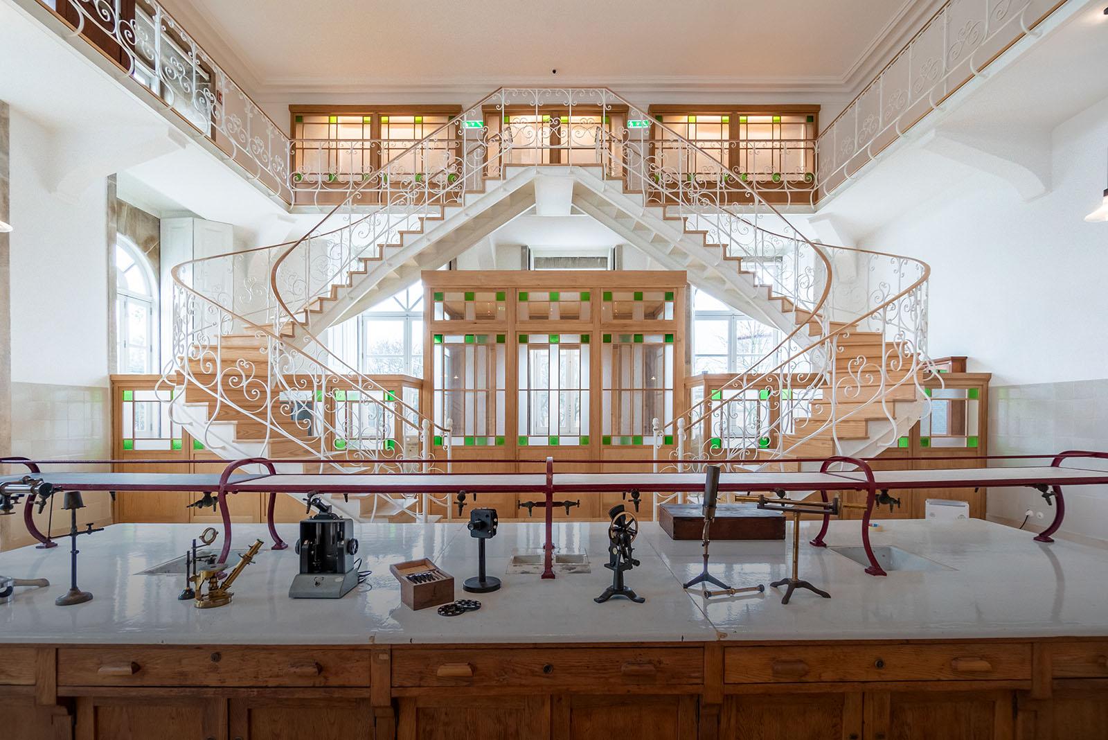 """Universidade """"devolve"""" à cidade espaço emblemático da história da Química"""