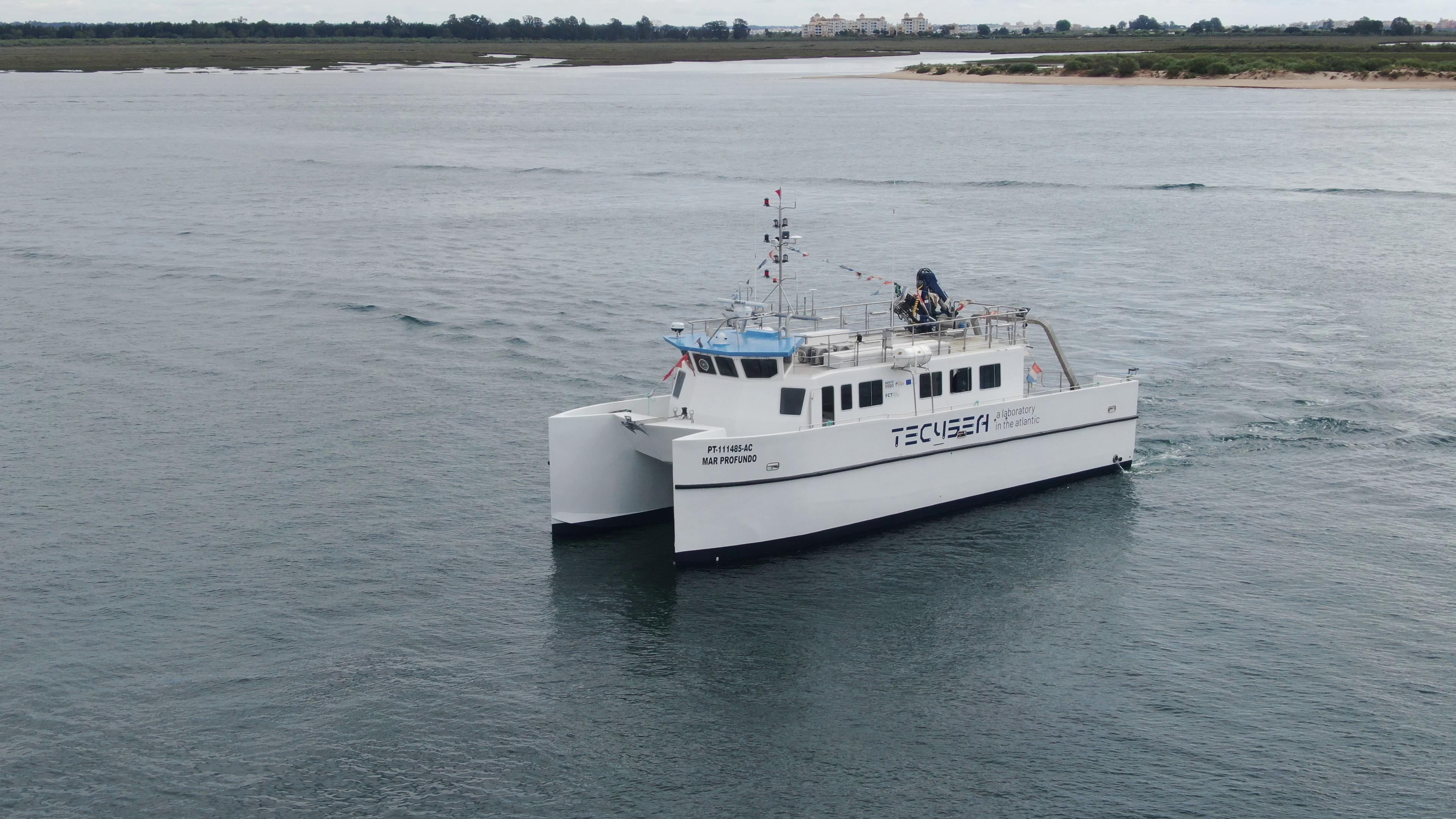 Lançado ao mar navio de investigação para teste de tecnologias marítimas