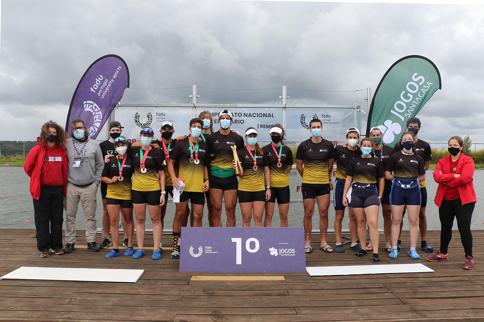 U.Porto sagra-se tricampeã nacional universitária de Remo