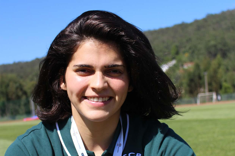 Cláudia Rodrigues, atleta de atletismo, lançamento de peso